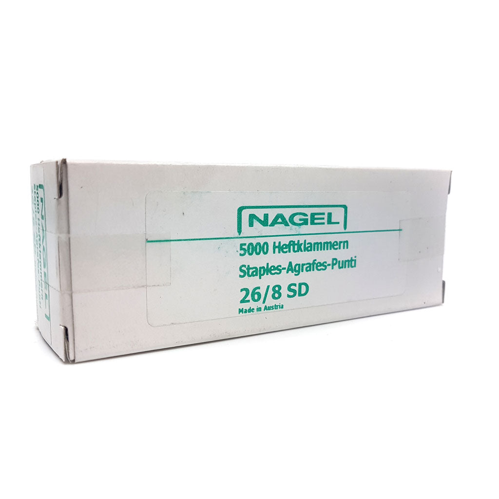 Nagel 26/8 Super Hard Chisel Point Staples