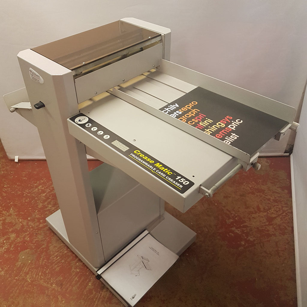 Used / Pre-owned Kas 150 Crease Matic + Perforating