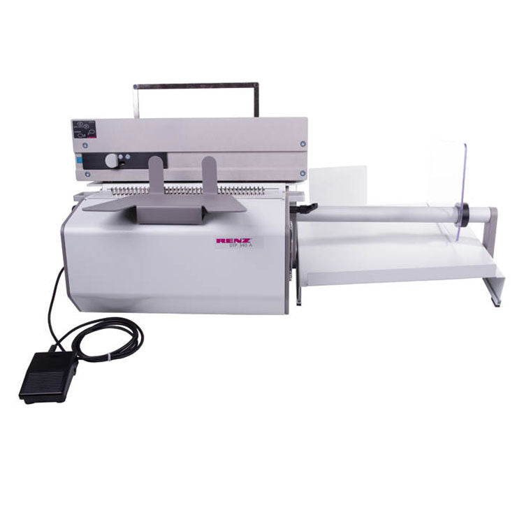 Renz DTP-340A Wire Binder