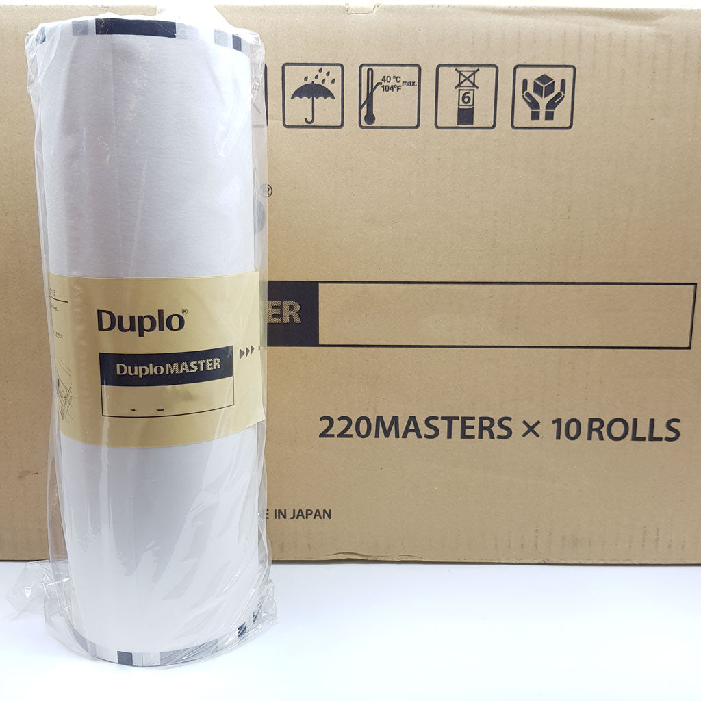 Duplo DP-460H/460E Series Masters x 10 rolls