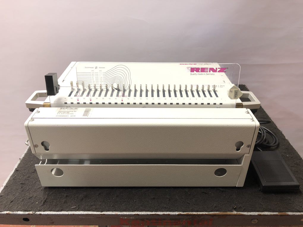Used / Pre-owned Renz DTP-340M with 2:1 Die