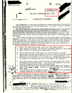 "Official FBI ""UFO/ ET"" Documents Revealed"
