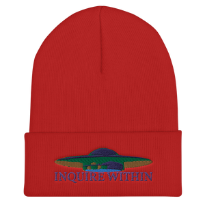 UFO Abduction Protection Beanie