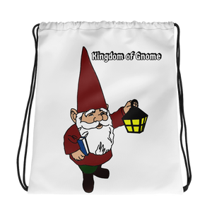 Kingdom of Gnome Drawstring bag