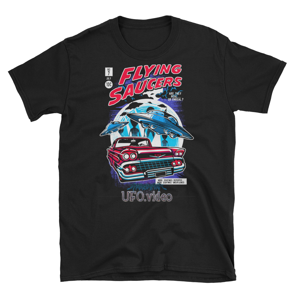 Flying Saucers Comic Shirt!!!!