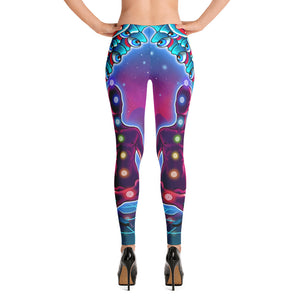Universe In My Head Leggings