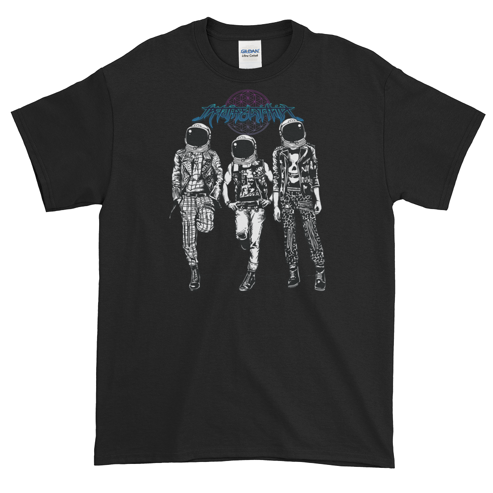 4X/ 5X Heavy Metal in Space Shirt