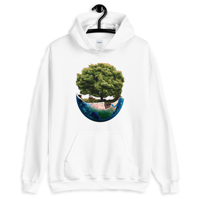 Regrow the Earth Unisex Hoodie (40 Trees Planted)