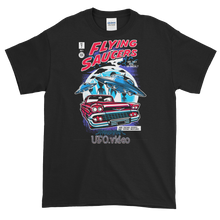 4X/ 5X Flying Saucer Comic Book Shirt