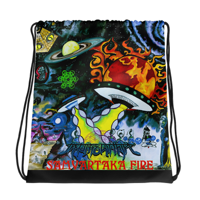 Samvartaka Fire Drawstring bag
