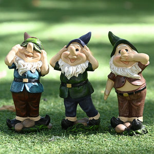 See No Evil Gnome, Speak No Evil Gnome, Hear No Evil Gnome