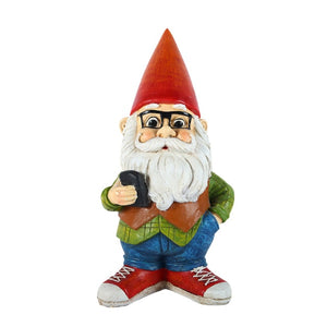 Coffee Shop Hipster Gnome