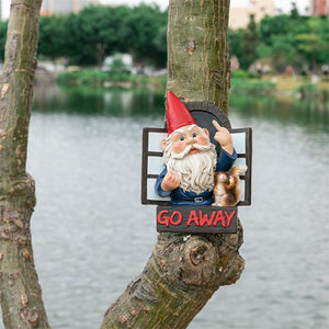 Cranky Gnome Tree Guard, Stay Out of My Tree!
