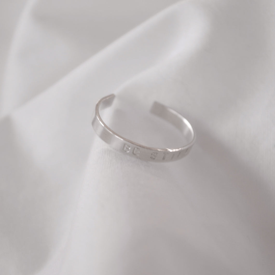 Silver Mini Band Ring