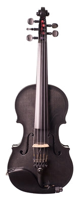 Glasser Carbon Composite Acoustic-Electric 5-String Violin, 4/4 With Outfit - Aria Muzic