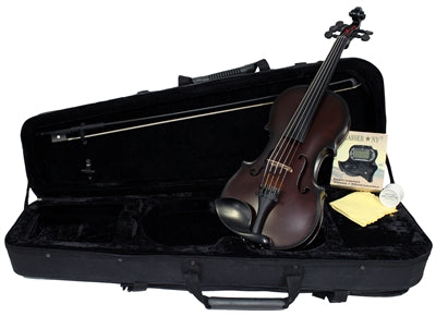 Glasser Carbon Composite Acoustic 5 String Violin 4/4 Outfit - Aria Muzic