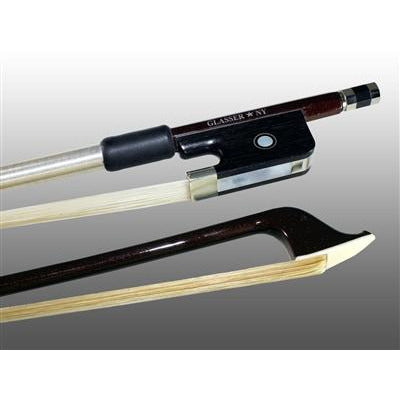 Cello Bow Advanced Composite, Fully-Lined Ebony Frog, Nickel Wire Grip - Aria Muzic