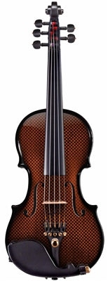 Glasser Carbon Composite Acoustic-Electric 5-String Violin, 4/4 Only - Aria Muzic