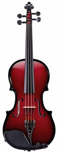 "Glasser  AEX Carbon Composite Acoustic Electric Viola 15.5"" - Aria Muzic"