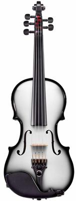 Glasser AEX Carbon Composite Acoustic-Electric String 4 Violin, 4/4 / With Outfit / White - Aria Muzic