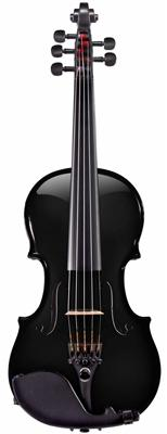 Glasser AEX 5-string Carbon Composite Acoustic Electric Violin, Black Metallic - Aria Muzic