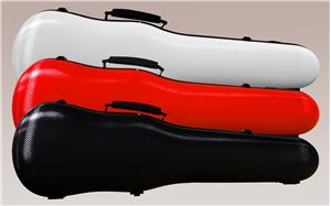 Mirage Carbon Hybrid Shaped Violin Case - Aria Muzic