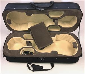 Ultralite Double Violin Case, For Transport, no bow holder - Aria Muzic