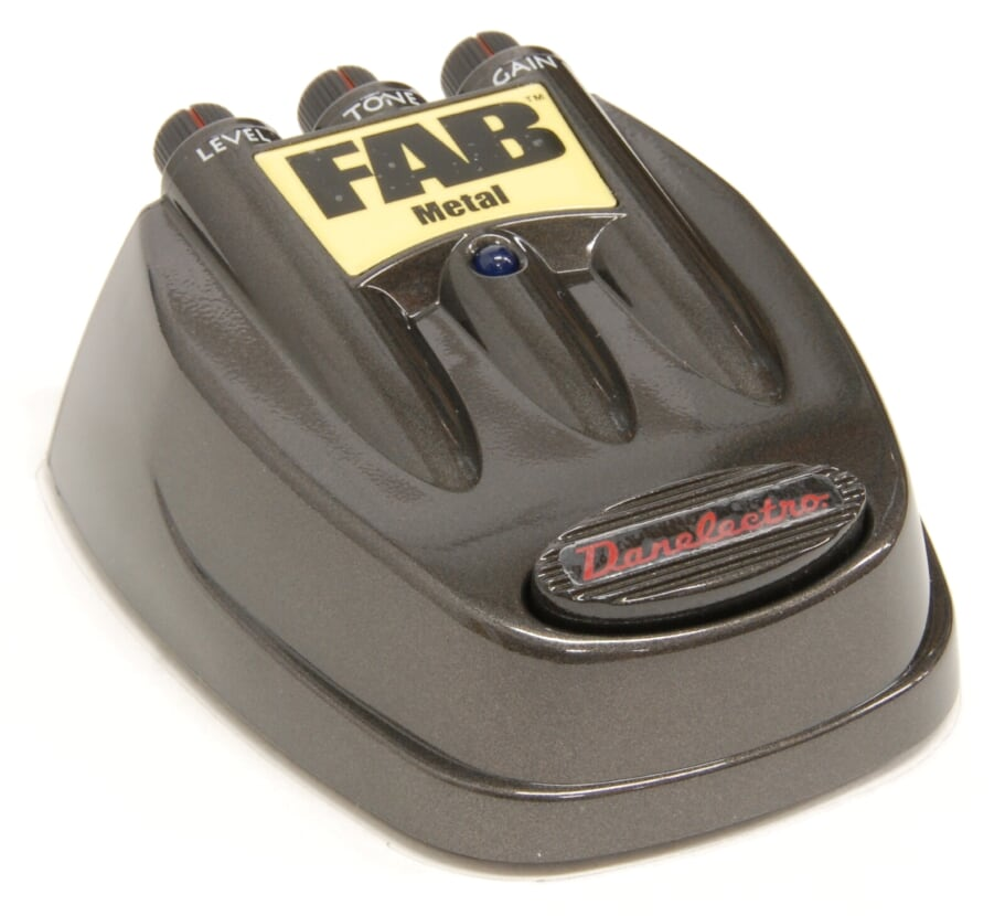 Danelectro D-3 Fab Metal Electric Guitar Effects Pedal