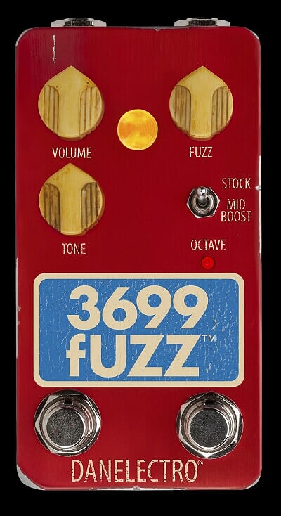 Danelectro The 3699 Fuzz Guitar Effect Pedal