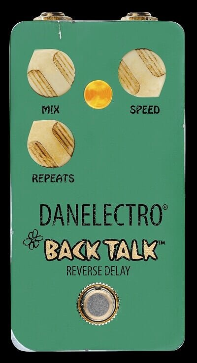 Danelectro Back Talk Reverse Delay Effects Pedal