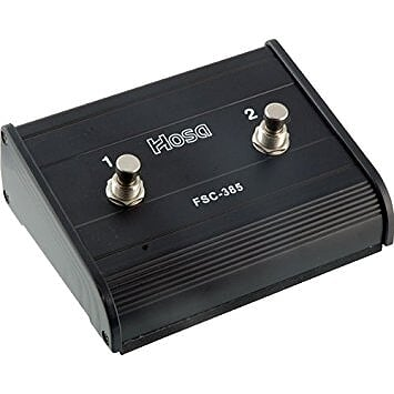 HOSA FSC-385 Dual-Channel Foot Switch