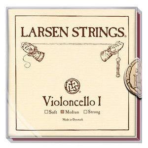LARSEN CELLO SET WITH ORIGINAL A&D AND MAGNACORE G&C