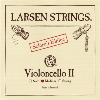 LARSEN CELLO SET WITH SOLOIST A&D AND MAGNACORE G&C