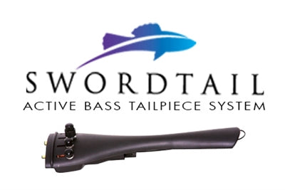 Swordtail Active Bass Tailpiece System Channel - Aria Muzic