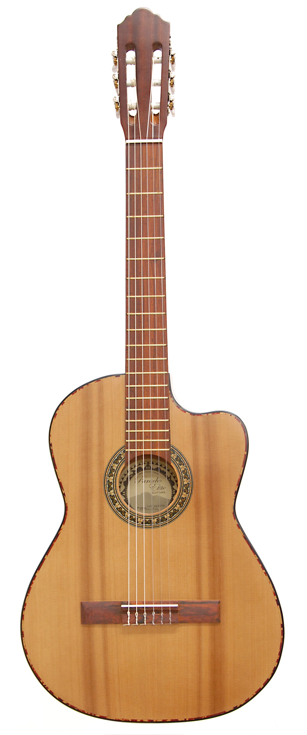 Paracho Elite Guitars San Benito E Cedar Top Class Nylon Natural