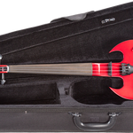 Wood Violin Stringray SVX Series 4 String Electric ViolIn Galaxy Red