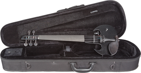 Wood Violin Stringray SVX Series 5 String Electric ViolIn Black