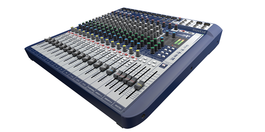 Soundcraft Sognature 16 Mixer console W/USB