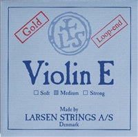 Larsen Violin Premium Set W/Gold E W/Silver D Medium Loop - Aria Muzic