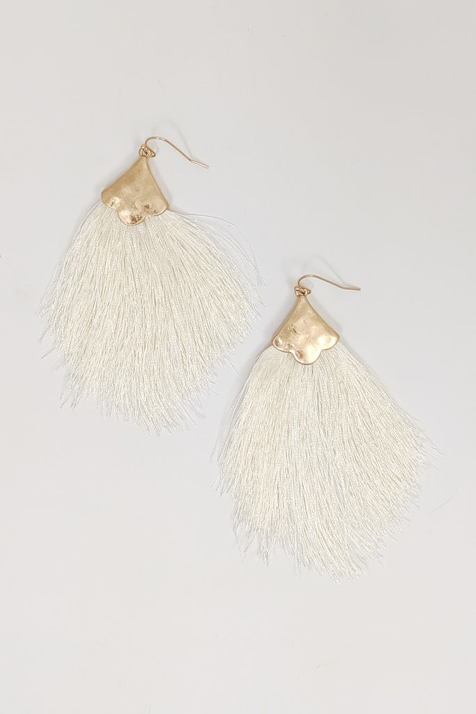 Tassel Earrings with Fish Hook