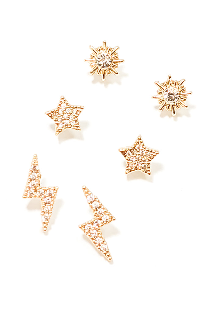 Vinnie Earrings Set