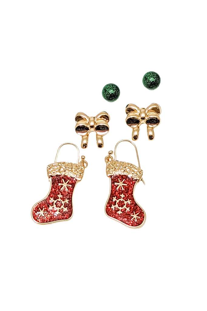 Holly Earring Set