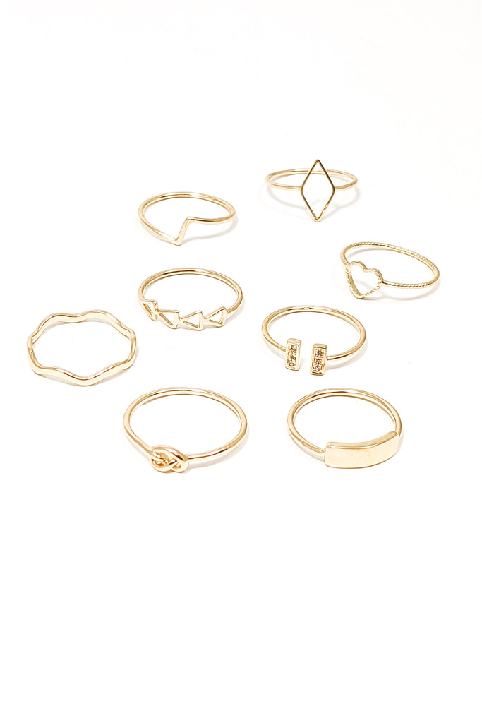Elly Ring Set