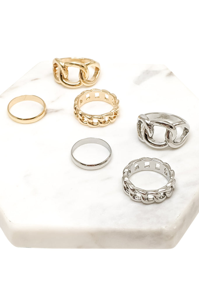 Simone Ring Set