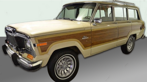 Open-Side Trim - Jeep Grand Wagoneer (Cherry Oak)