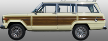 Closed-Side Trim - Jeep Grand Wagoneer (Marine Teak)