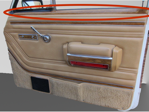 Interior Door Replacement Woodgrain Panel Kit