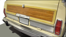 Tailgate Panel - Jeep Grand Wagoneer (Cherry Oak)