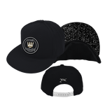 Tupac Crown Patch Black Snapback