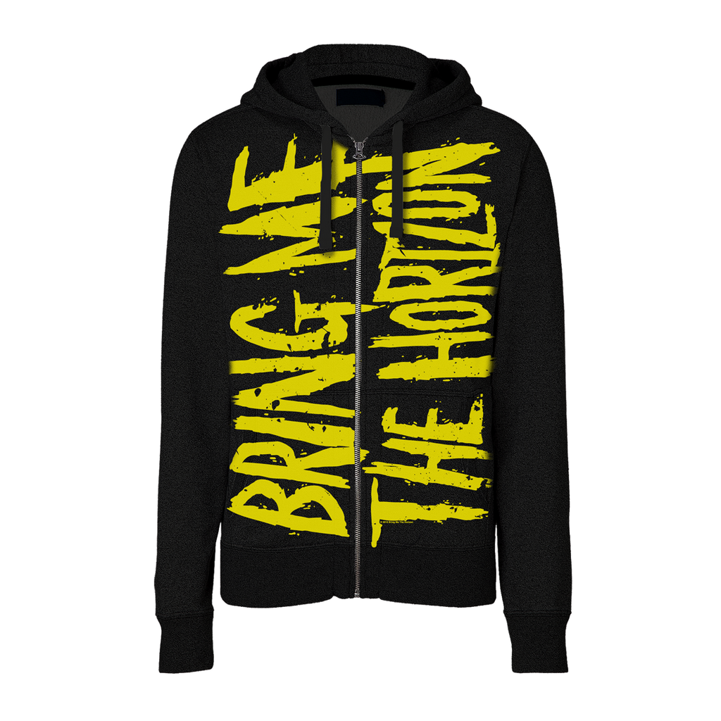 Bring Me The Horizon | Allover Logo Zip Hoodie